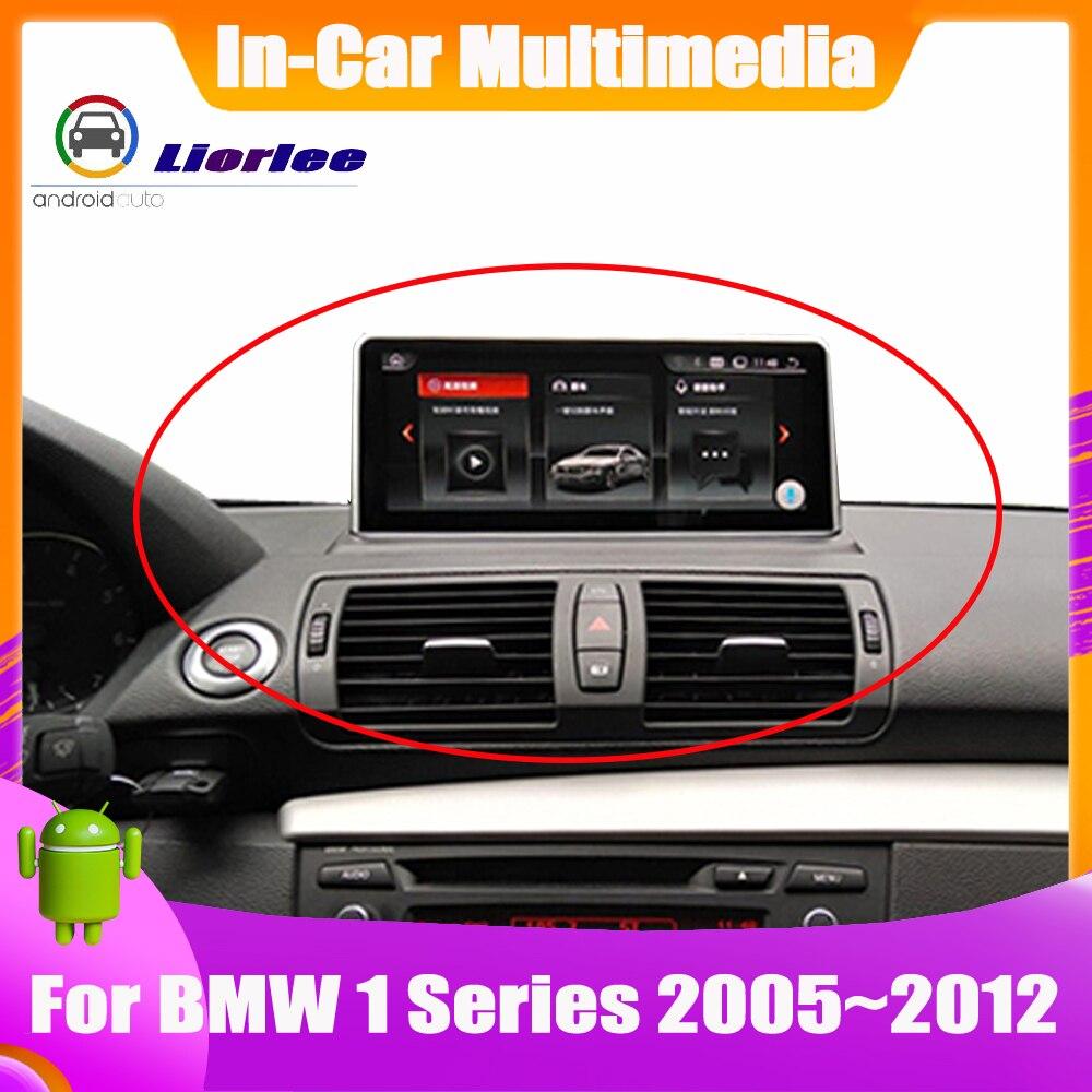 Mise à jour du système Android pour BMW série 1 E81 E82 2005 ~ 2012 HD écran tactile stéréo Radio TV GPS Navigation Bluetooth