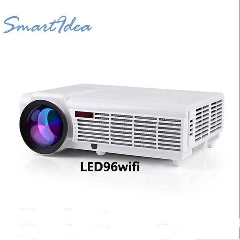 Prix pour SmartIdea LED Home Cinéma Android 4.4 WiFi Projecteur avec 5500 lumens Luminosité Multimédia LCD Vidéo Jeux HDMI D-TV Proyector
