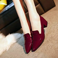 2017 Nova Primavera Moda Bruto Com Cabeça Toe Único Sapatos Boca Rasa Mulheres Sapatos Zapatos Mujer Zapatos Planos Plateados