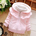 2016 Winter fashion Children Outwear Hooded Jacket Boys Girls Jackets Coats Children's Coat  Skirt collar Clothing