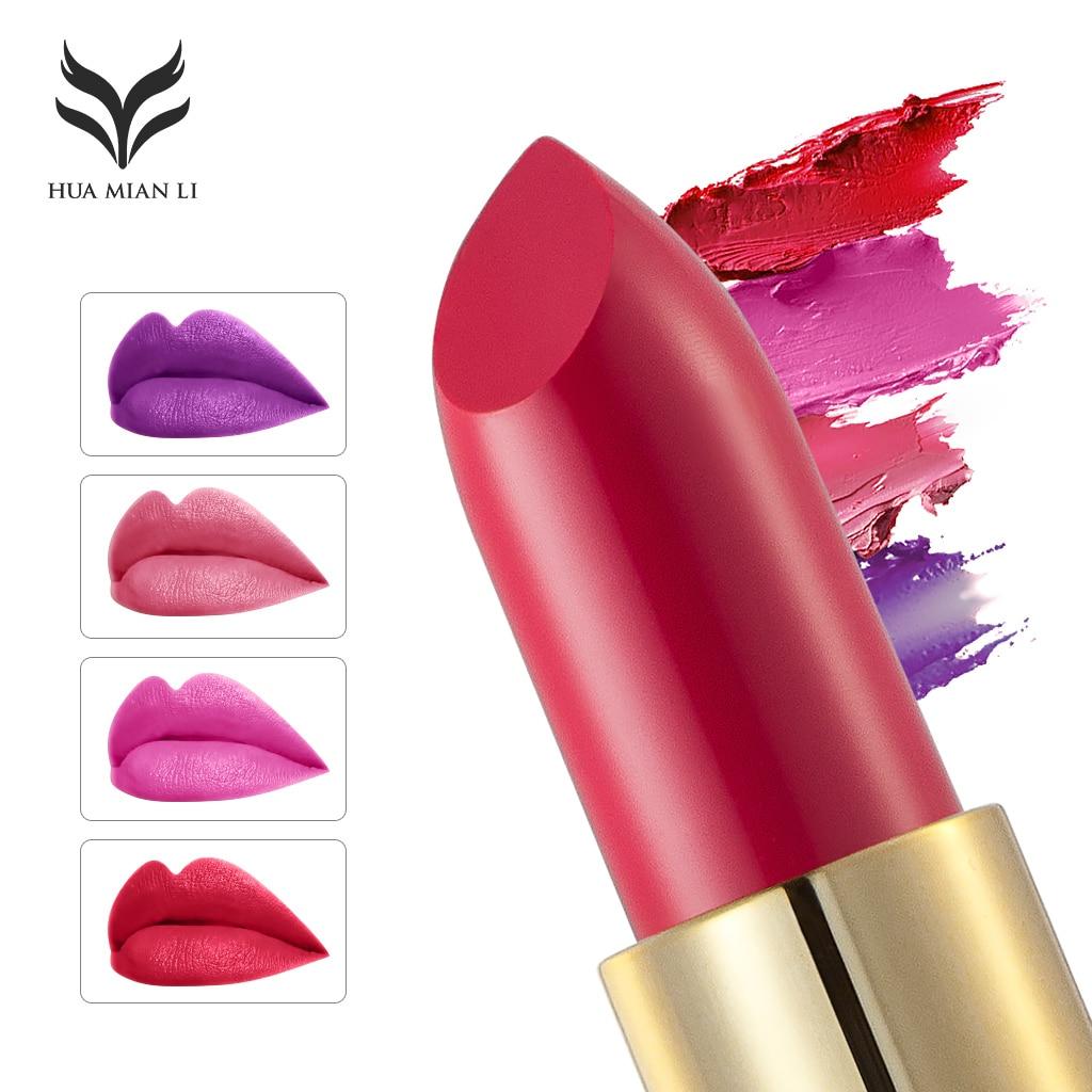 12 styles Makeup Red Lips Matte Velvet Lipstick Pencil Cosmetic Long Lasting