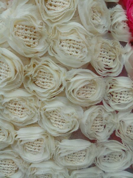 2017 apricot flower Rose dress fabric Christmas day party desk cover luxury floor cover ivory embroidery fabric cloth fancy work