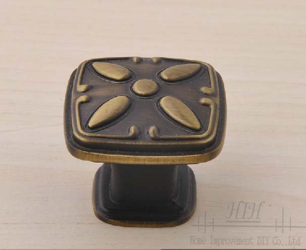 30 X  Furniture Handles Green Bronze Cabinet Knobs Free Shipping