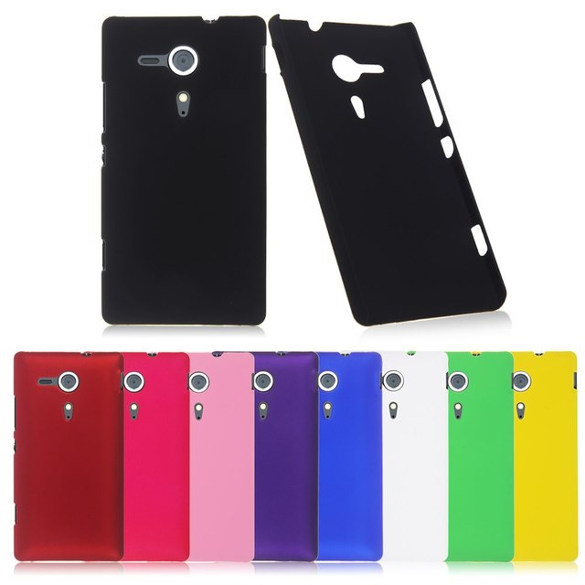 Fashion Frosted Matte Plastic Hard sFor Sony Xperia SP Case For Sony Xperia  SP M35h C5302 6910b067778e