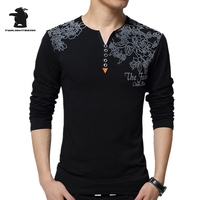 New Men S T Shirt Spring Autumn Designer Fashiong Printing Cotton Long Sleeve Casual T Shirts