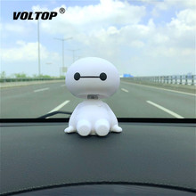 Cartoon Roboter Schütteln Kopf Auto Innen Dashboard Dekoration Ornament Zubehör für Mädchen Hängen Anhänger