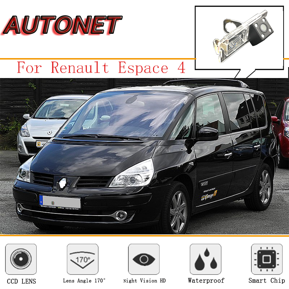 AUTONET Rear Camera For Renault  Espace 4 Espace IV/Reverse Camera/CCD/Night Vision/Backup License plate Camera|Vehicle Camera| |  - title=