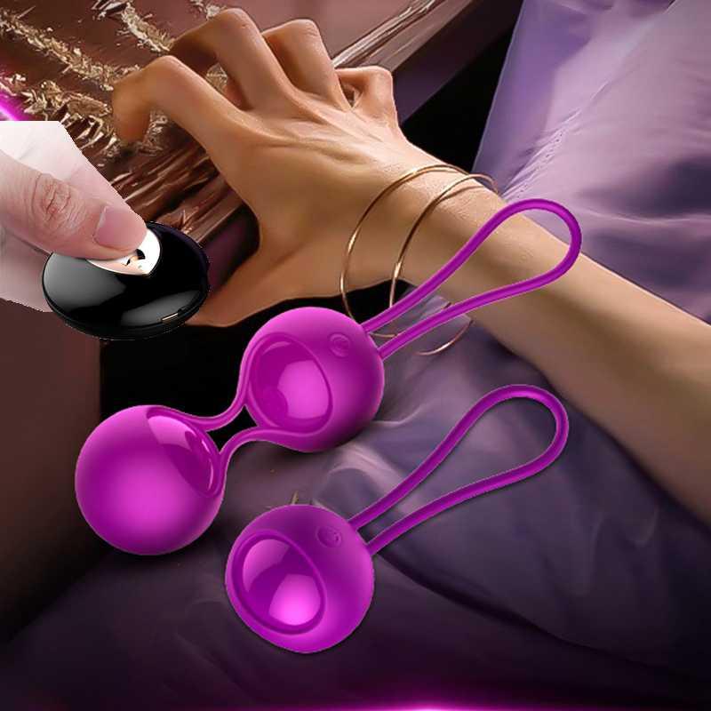 RENARD Intelligent Télécommande Vibrateurs Kegel Exercice Vaginale Boules Oeuf Vibrant 20 Mètre Contrôle Distance Jouets Adultes de Sexe pour les Femmes