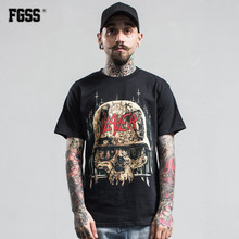 FORGIVENESS 2017 Novelty Skull Head Printed Men T Shirts Male Round Neck Short Sleeve tShirt Daily Basic tops Shirt C323 N40