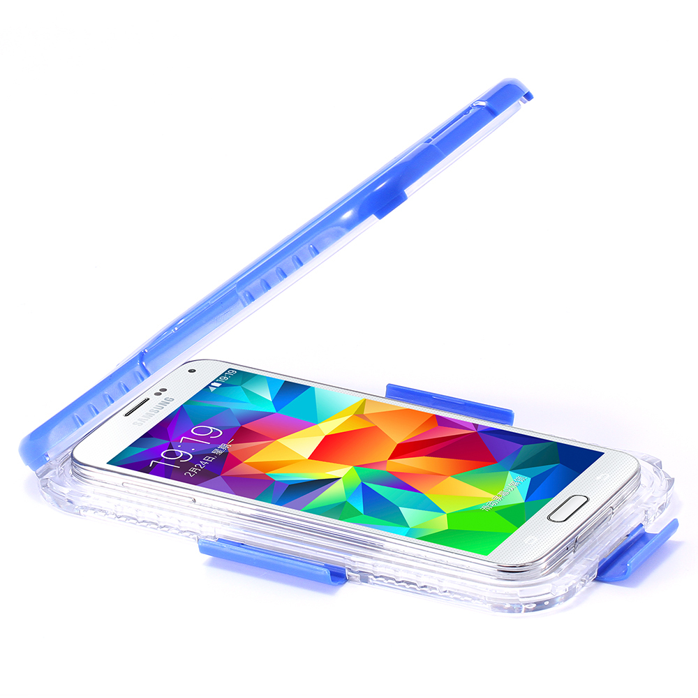 get cheap 31bb6 d593e S5 S4 S3 Waterproof Cool Transparent Case For Samsung Galaxy S3 S4 S5 Case  Plastic Phone Cover Coque Sports Swimming Candy Capa-in Phone Pouch from ...