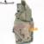 Táticas militares tornado universal pistol drop leg holster para a mão direita militar coxa holster woodland coldre de arma