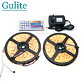 IP65 Waterproof 5050 RGB 10M LED Strip Set Flexible Tape Home Decoration Lighting 44Keys IR Controller 12V 3A Power Adapter