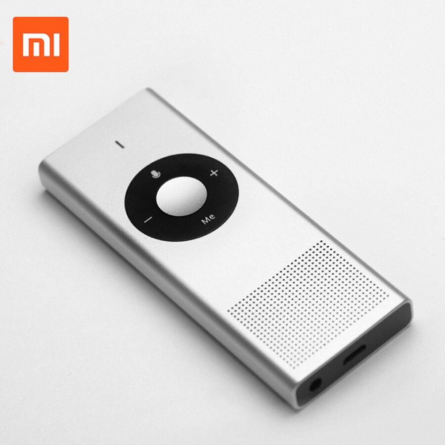 D'origine Xiaomi Mijia Konjak AI Traducteur Vocal 14 Lauguages 7 Jours Veille 8 H Continue Traduire 900 batterie mah Smart