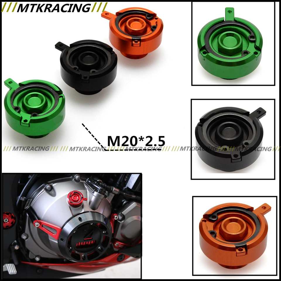 M20*2.5 Motorcycle Accessories Engine Oil Filter Cup Plug Cover For Ducati MONSTER 696 HYPERMOTARD 796 848 1100 EVO 2009-2016 nuova simonelli bottomless filter holder portafilter with 3 cup filter
