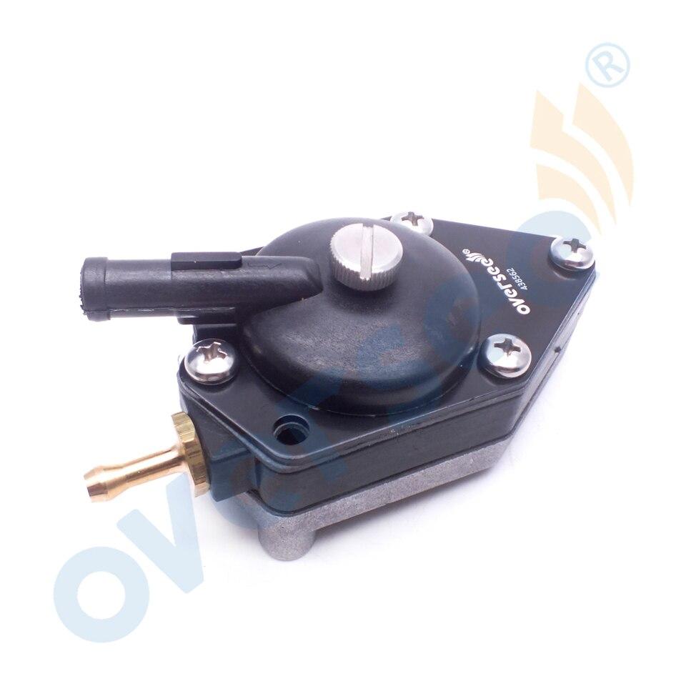 BE15RLEDS E15EEDS E15RLEDS Carburetor Repair Kit for 1996 OMC Evinrude 15HP