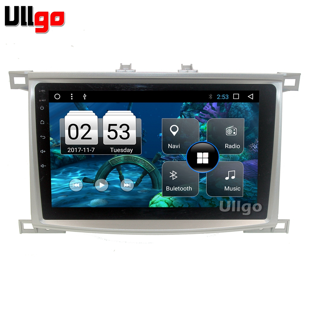 US $277 2 28% OFF Android 7 1 Car Head Unit for Toyota LC100 Lexus 470  Autoradio GPS Car Radio GPS Central Multimedia-in Car Multimedia Player  from