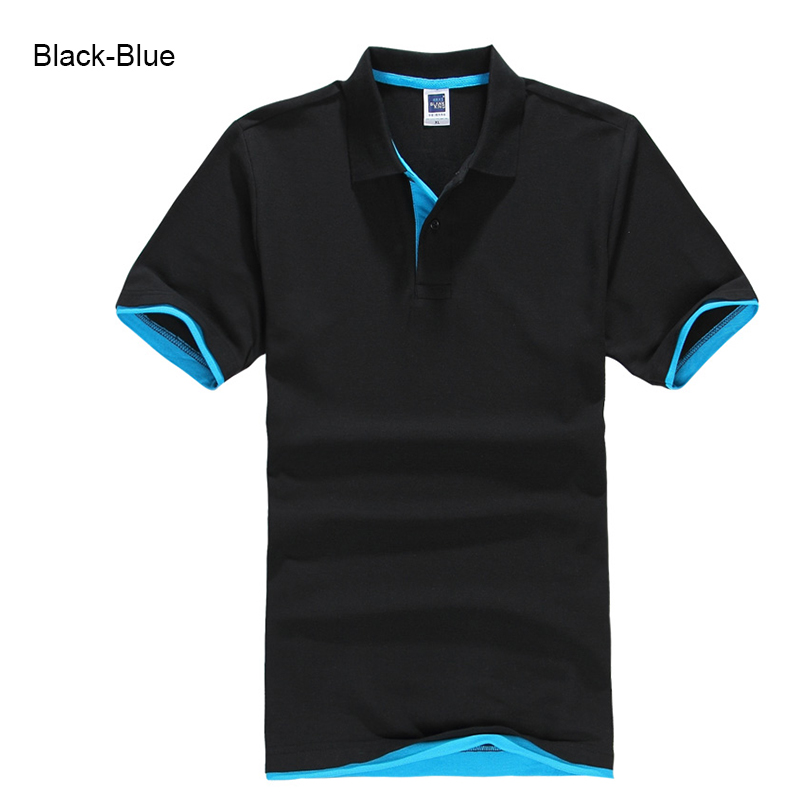 Brand New Men's Polo Shirt High Quality Men Cotton Short Sleeve shirt Brands jerseys Summer Mens polo Shirts 63
