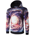 New Arrival Men Hoodies Long Sleeve With Hood Men 3D Printing Universe galaxy Sweatshirt Hoodies men High Quality Autumn Wear