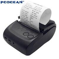 5PCS Wireless Bluetooth Thermal Receipt Printer 58mm Mini Bluetooth Android Mobile Printer For Samung LG XiaoMi