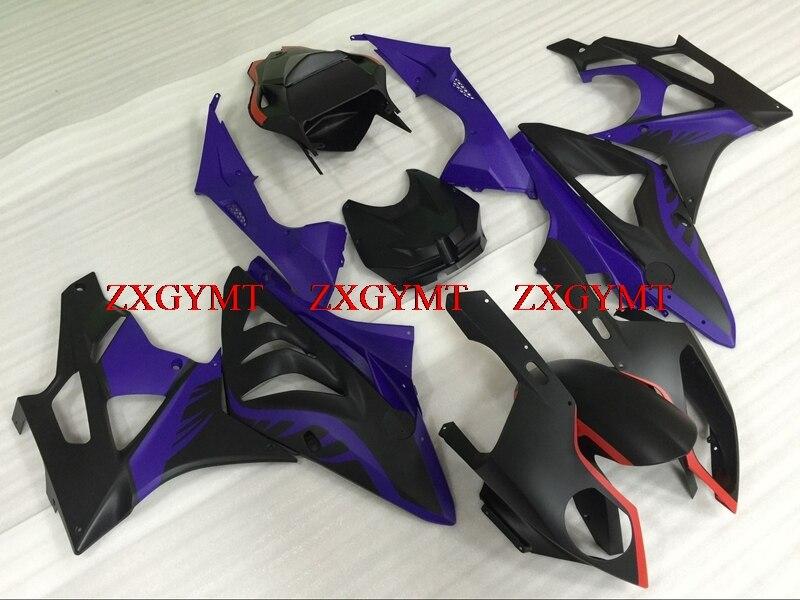 Fairing Kits for S1000RR 2010 - 2014 Fairings S1000 RR 11 12 Matter Black purple Fairing Kits S1000 RR 2013Fairing Kits for S1000RR 2010 - 2014 Fairings S1000 RR 11 12 Matter Black purple Fairing Kits S1000 RR 2013