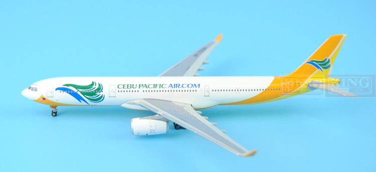 GeminiJets Cebu Pacific Airlines RP-C3341 1:400 A330-300 commercial jetliners plane model hobby gjcca1366 b777 300er china international aviation b 2086 1 400 geminijets commercial jetliners plane model hobby