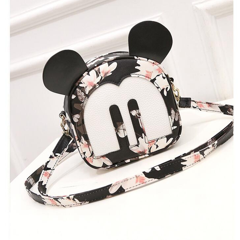 japanese backpacks with ears women's bag Korean Mouse Mickey shoulder bag women's small backpack school bag leather backpack led телевизор orion olt 32500