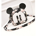 japanese backpacks with ears women's bag Korean Mouse Mickey shoulder bag women's small backpack school bag leather backpack