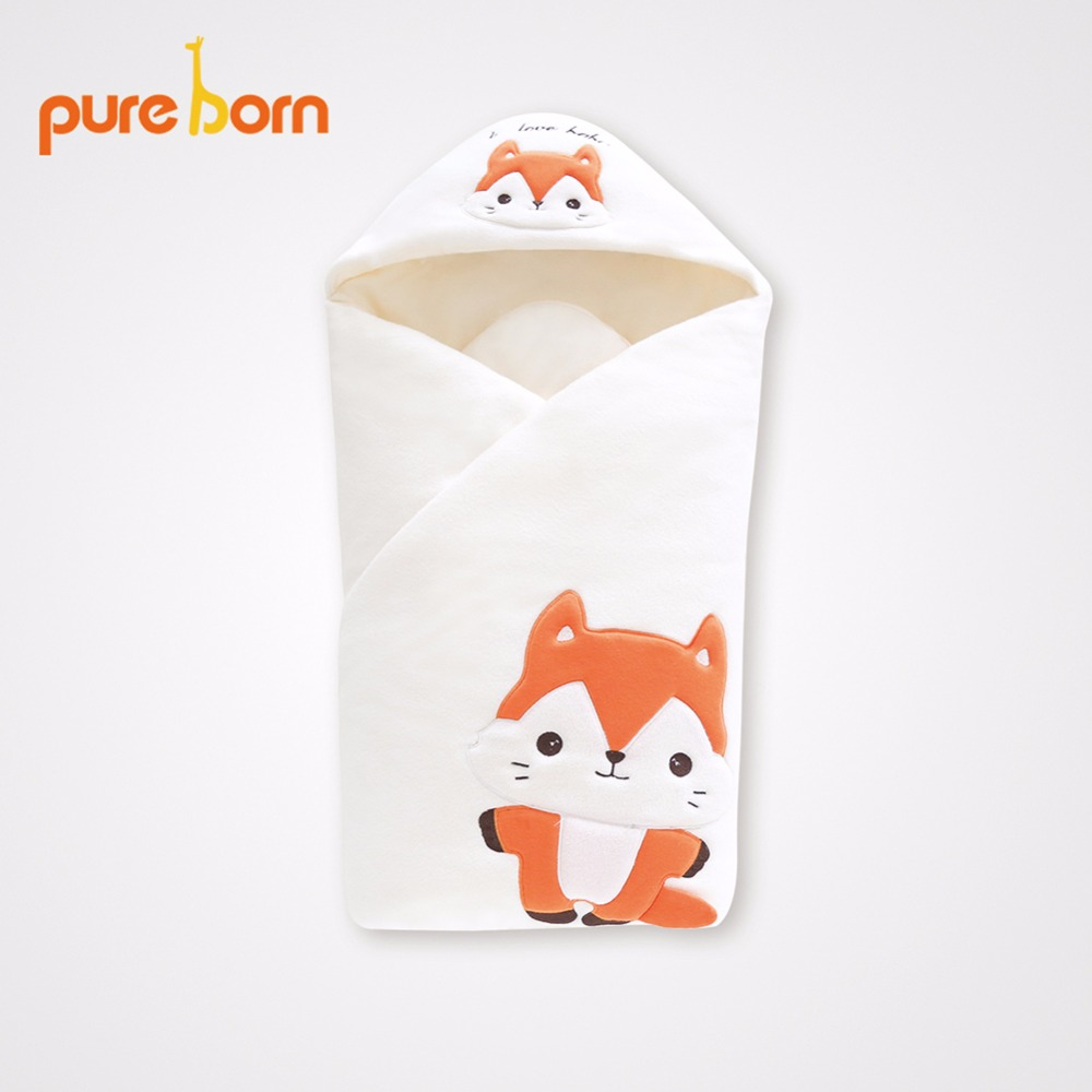 Baby Swaddle 88cm Baby Blanket Thick Warm Infant Cotton Cattle Sleeping Bag Envelope for Newborns Muslin Bedding Wrap Sleeping envelope for newborns swaddle 75 80cm infant swaddling blanket swaddle wrap winter cotton printed baby sleeping bag bedding