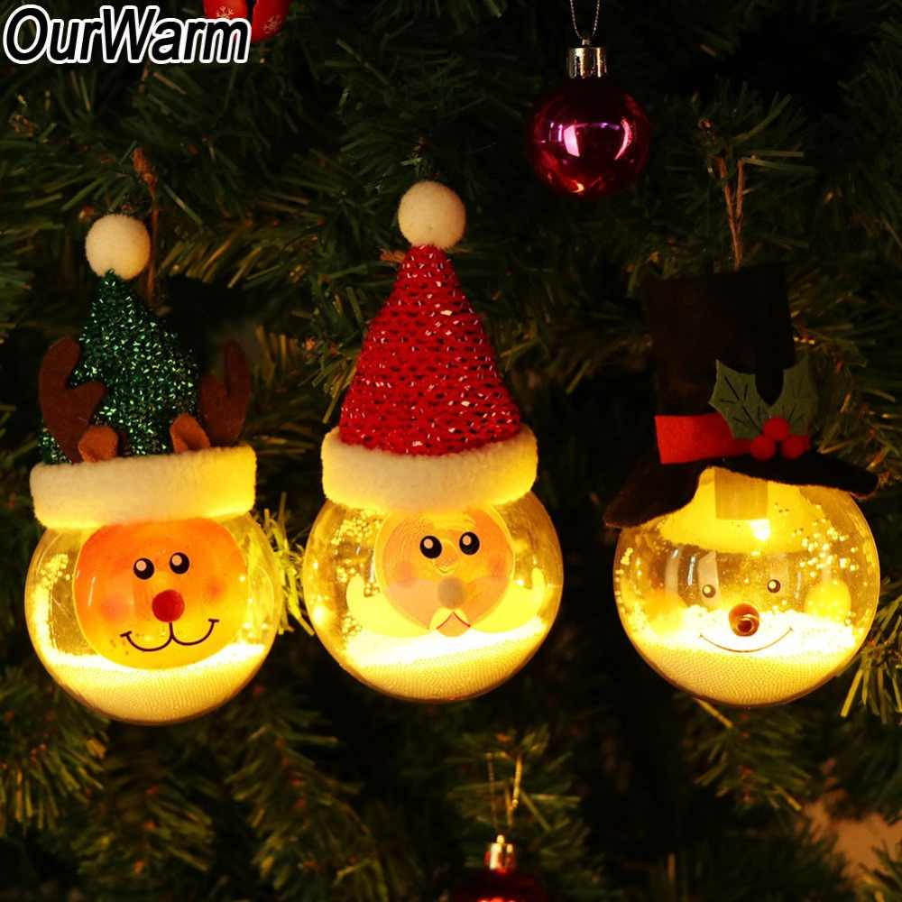 Christmas Tree Decorations Fluffy Unicorn Ornaments Fur Ball Pom Pom Horse Pendant New Year Gifts Decorations 2019 Detail Feedback Questions About Ourwarm Led Light Pvc Transparent