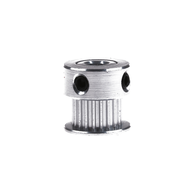 2GT 20Teeth Bore 5mm Width 6mm Part Synchronous Wheel Gear GT2 20 Tooth Timing Pulley Aluminum 3D Printer Parts with Screw Teeth Machine Tools & Accessories