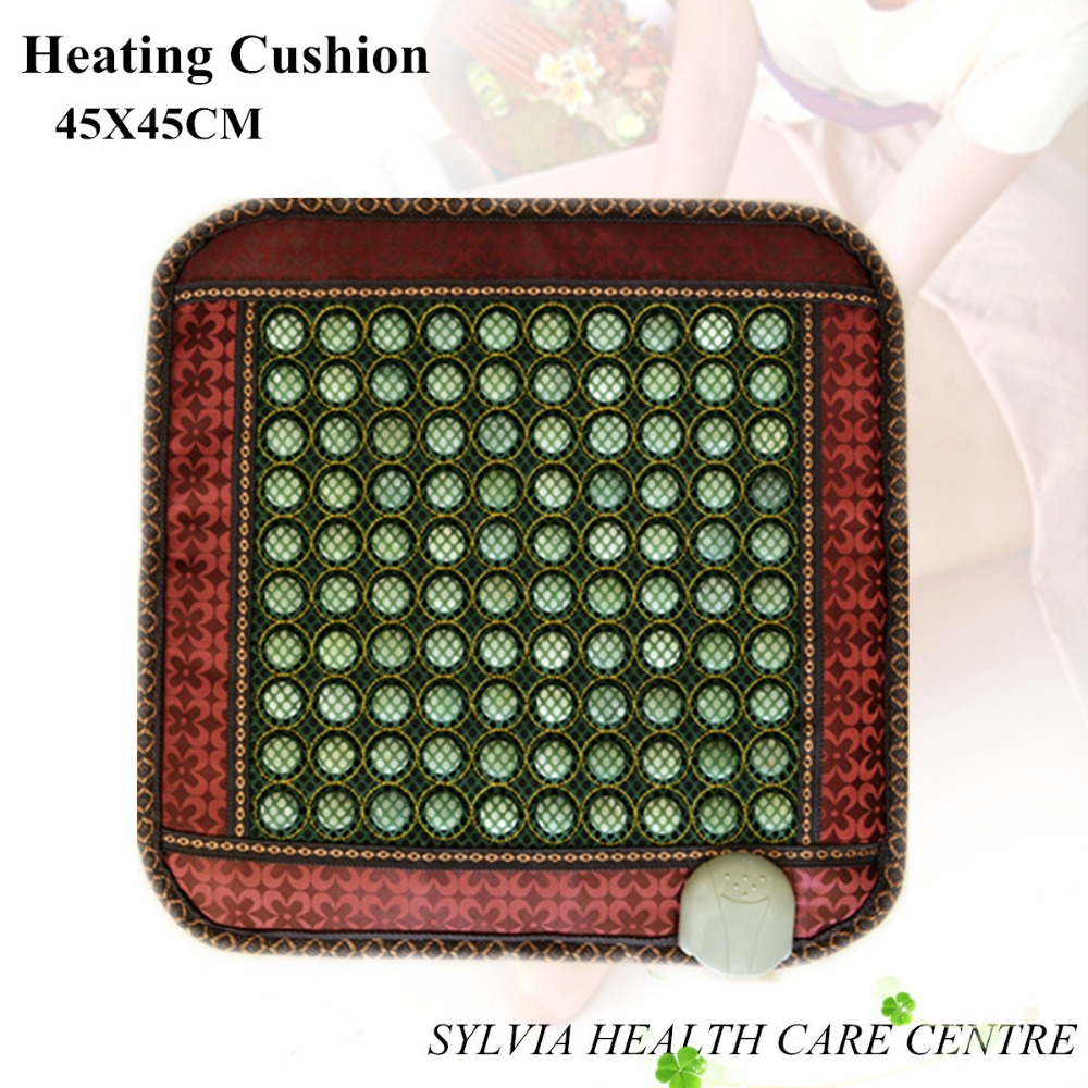 2018 HOT Sale Tourmaline jade Massage heating cushion pad auto seat cushion45*45CM hot sale hot sale car seat belts certificate of design patent seat belt for pregnant women care belly belt drive maternity saf