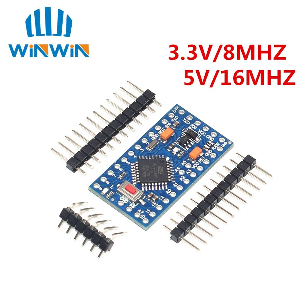 Free Shipping 50pcs lot Pro Mini 328 Mini 3 3V 8M 5V 16M ATMEGA328 ATMEGA328P AU