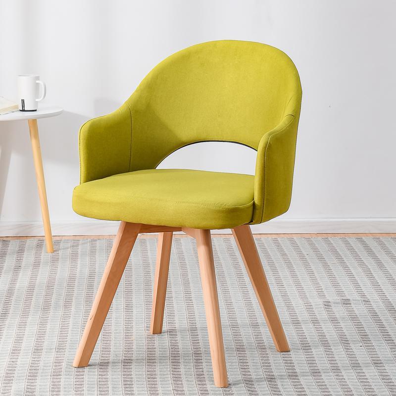 Современный простой стул для ленивых в скандинавском стиле, деревянный стул для ресторана, стул для обучения, простой стол и стул - Цвет: style 9