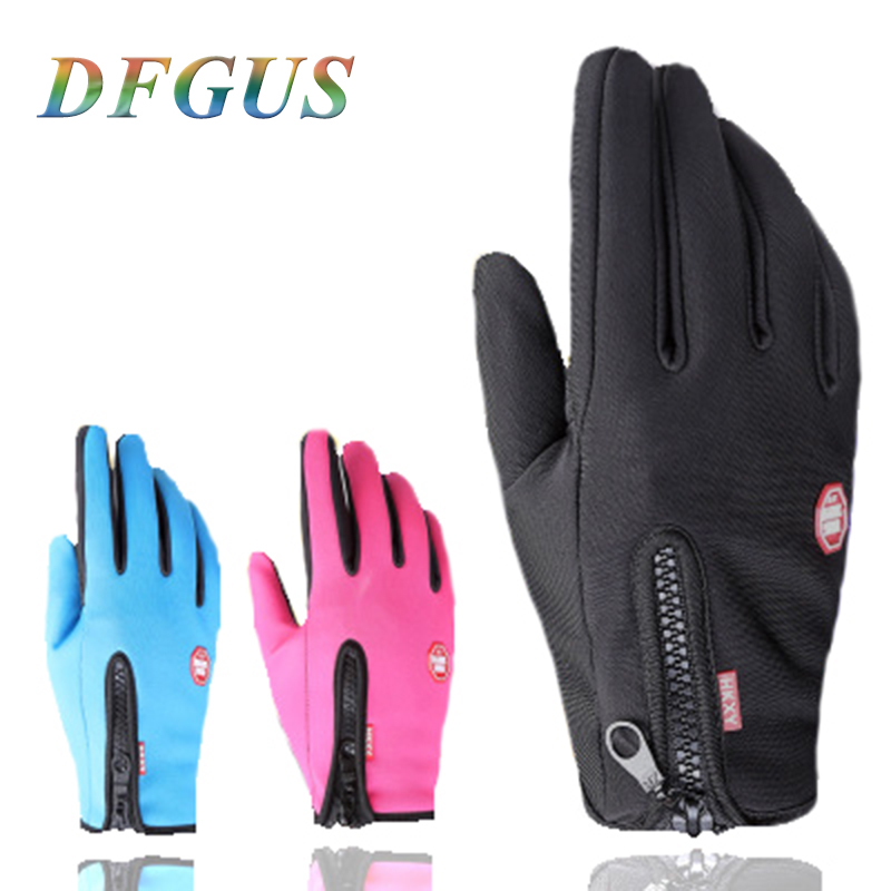 Mens Winter Gloves Outdoor Sport Driving Touch Screen Gloves Women Male Military Army Guantes Tactico Winter Gloves