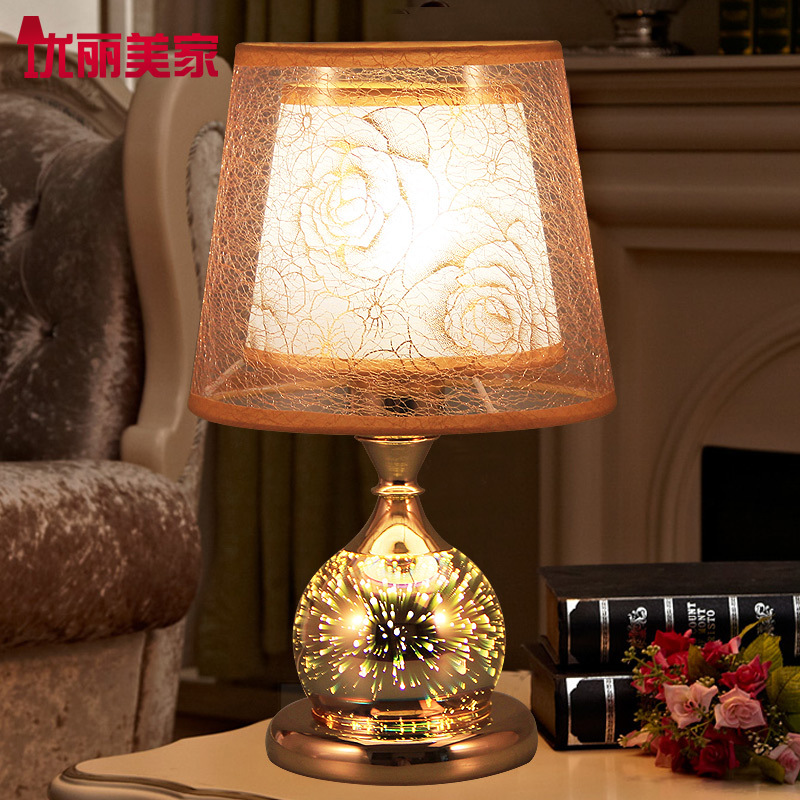 TUDA Table Lamps Contemporary Creative 3D lamp Personalized Gift Modern Fashion Bedroom Bedside lamp Decoration lamp Room Study tuda glass shell table lamps creative fashion simple desk lamp hotel room living room study bedroom bedside lamp indoor lighting