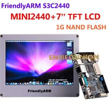 FriendlyARM Development Board ARM Kit MINI2440 +7 inch Touch Screen LCD,64M RAM+1G Flash,S3C2440 ARM9 2440