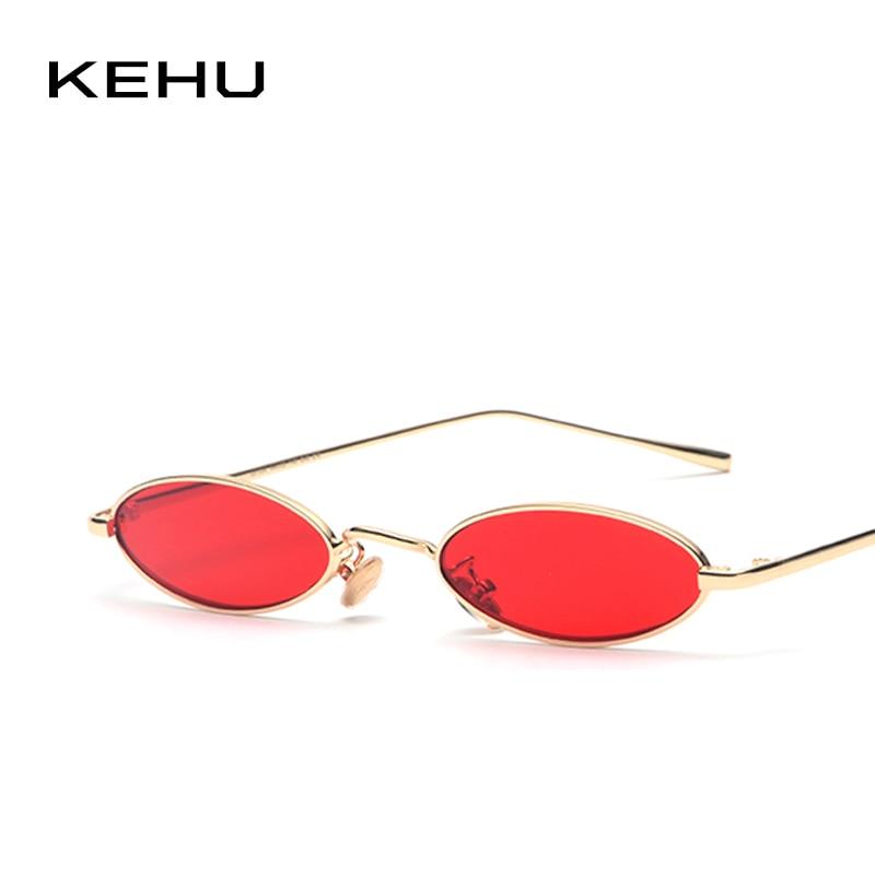 KEHU Nuovo Progettista di Marca Occhiali Da Sole Donne Piccolo Ovale Occhiali Da Sole Della Signora Delle Donne Shades Moda Specchio UV400 K9370
