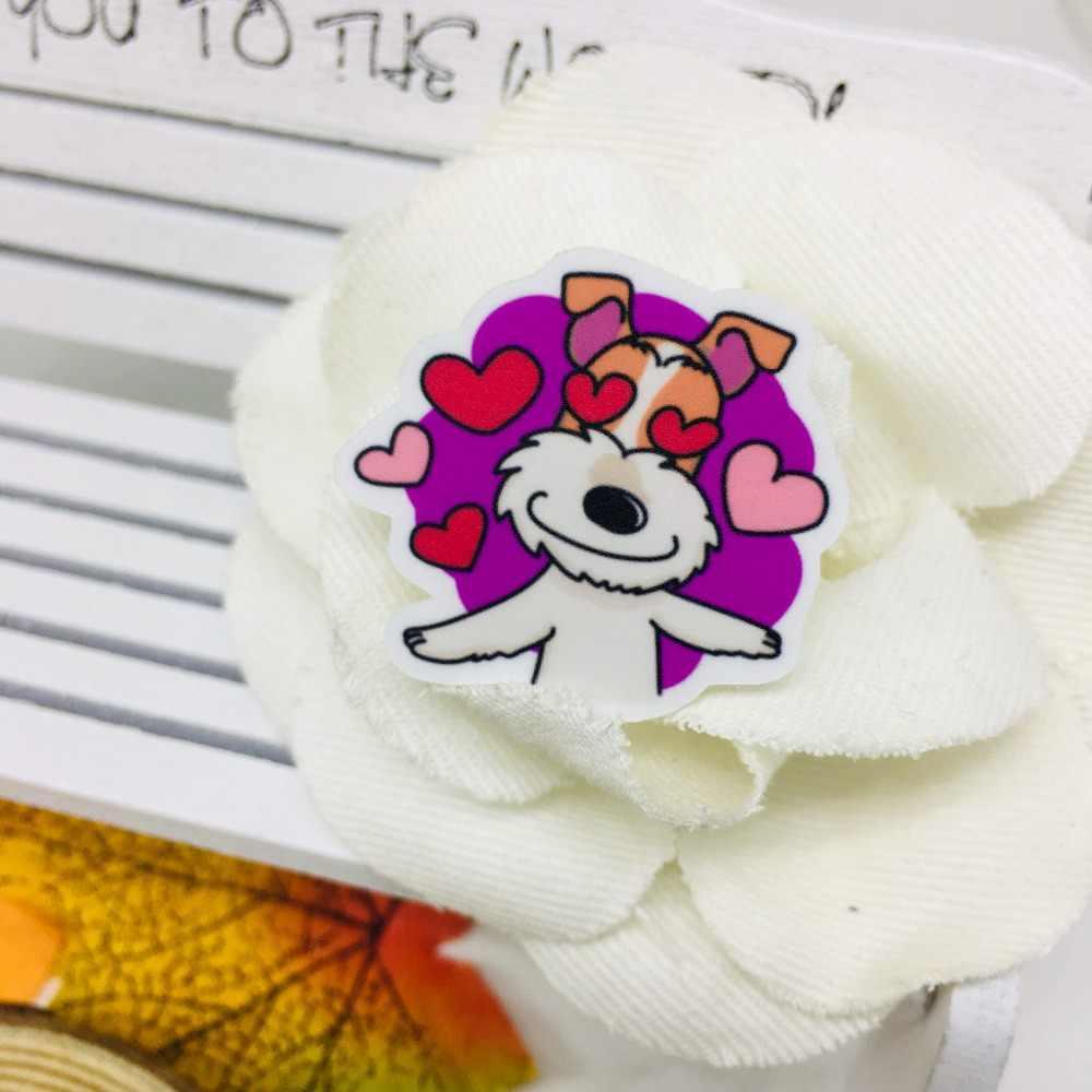 40 unids/lote Anime perro Scrapbooking pegatinas coche caso impermeable bicicleta mochila para portátil etiqueta engomada impermeable