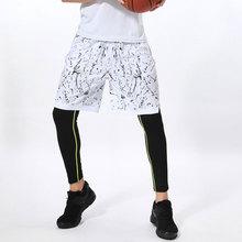 Мужские сетчатые спортивные баскетбольные шорты с карманами для тренировок и фитнеса кототкое быстросохнущее повседневные шорты