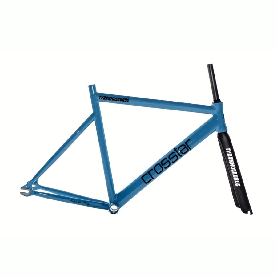 Festrad fahrradrahmen 53 cm 55 cm 58 cm TYRANS T2 FRAMESET TRACK ...