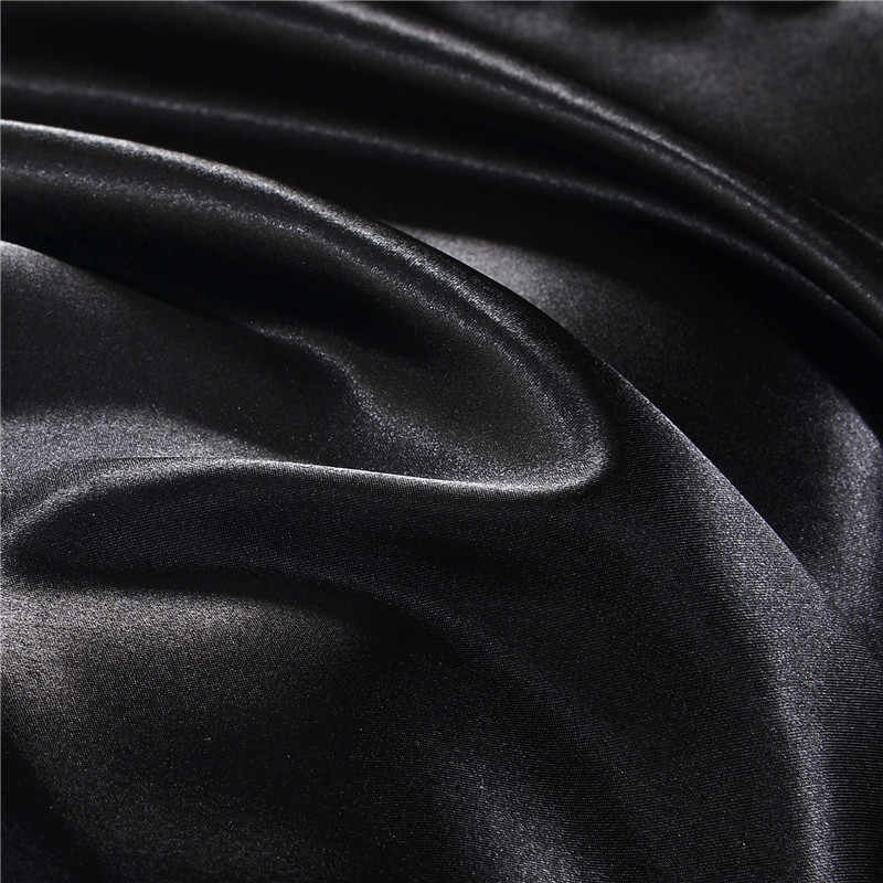 الحرير شرشف على شريط مرن غطاء مرتبة مع جميع أنحاء مرونة شريط مطاطي