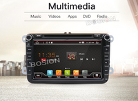 In dash Car stereo Android 7.1 Double 2Din 8 Inch Car DVD Player SD AUX IN SWC MAP For VW/Volkswagen/POLO/PASSAT/Golf/Skoda/Seat