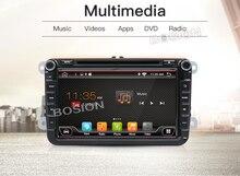 In dash Car stereo Android 7.1 Doppio 2Din 8 pollice Auto Lettore DVD SD AUX-IN SWC MAP Per VW/ volkswagen/POLO/PASSAT/Golf/Skoda/Sede