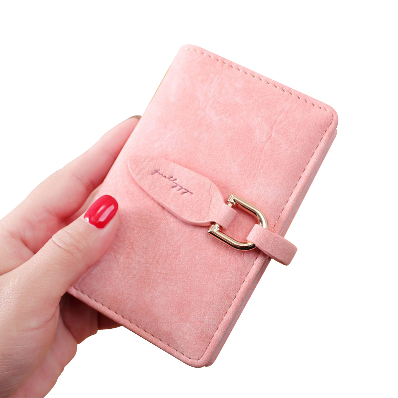 Genuine Leather Women Credit Card Holder Plastic Tassel 20 Cards ...