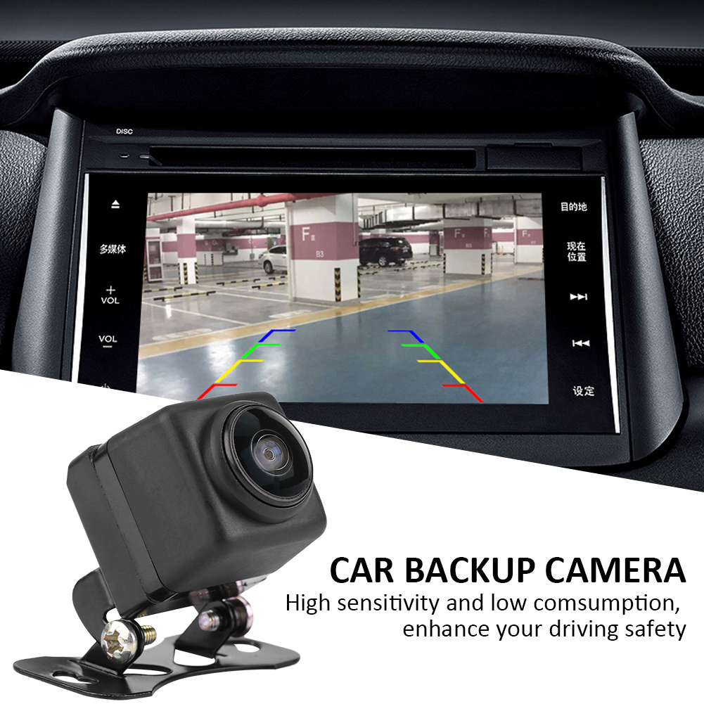 180 Degree Fisheye Lens Car Camera Rear / Front View Wide Angle Reversing Backup Night Vision Parking Assist For Car360 Rotation