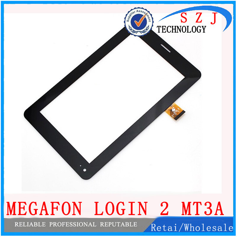 Original 7 inch Megafon Login 2 Login2 MT3A Tablet touch screen Touch panel Digitizer Glass Sensor Free Shipping levi s levi s le306emhkr80
