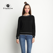EE Luxury Brand Women Sweater 2017 Spring Woman Sweater O-Neck Sleeve Autumn Winter Brand Women Sweater