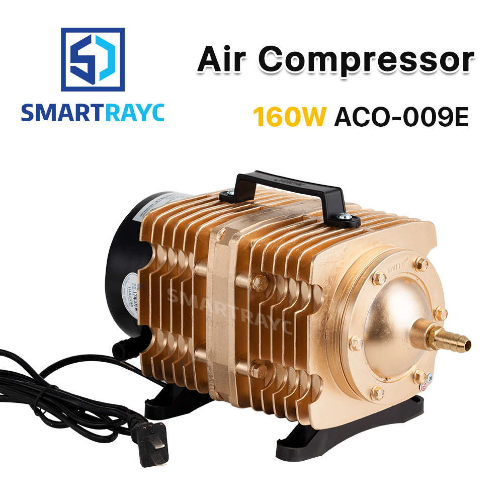 Smartrayc 160W Air Compressor Electrical Magnetic Air Pump for CO2 Laser Engraving Cutting Machine ACO 009E