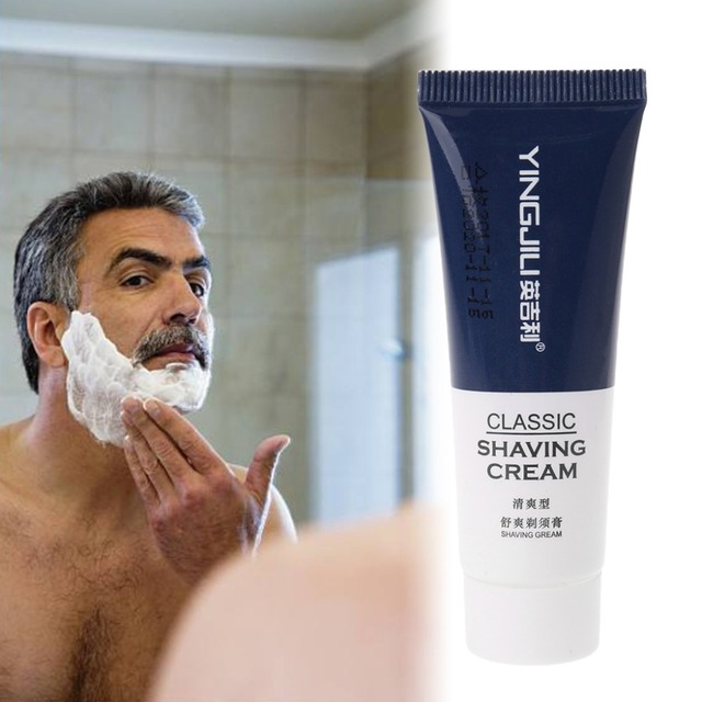 1 pieza de espuma de afeitar Manual de afeitar crema de afeitar para viaje Hotel Personal belleza cara