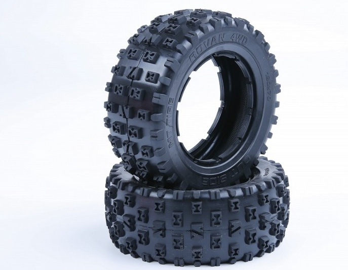 New knobby tyres III for 1/5 Losi 5ive-t Rovan LT king motor X2 rc car parts сигнализатор поклевки hoxwell new direction k9 r9 5 1